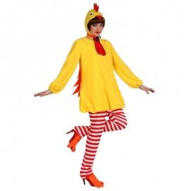 Disfraz de gallina pio pio XL para adulto