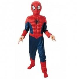 Disfraz de Spiderman Ultimate musculoso 7-8 años