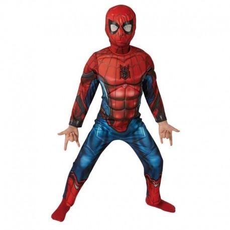 Disfraz de Spiderman HC musculoso 7-8 años