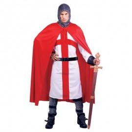 Disfraz de soldado cruzado para adulto