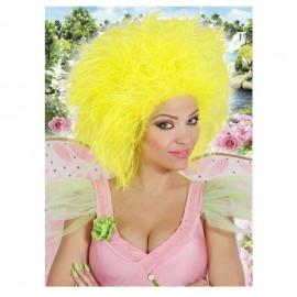 Peluca Fairy amarilla