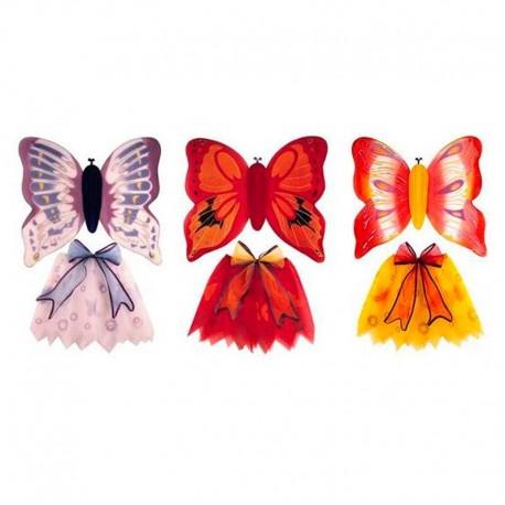 Conjunto de mariposa con falda