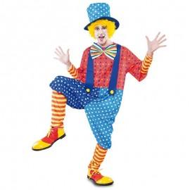 Disfraz de payaso circo para adulto