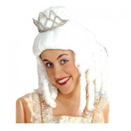 Peluca de Princesa blanca