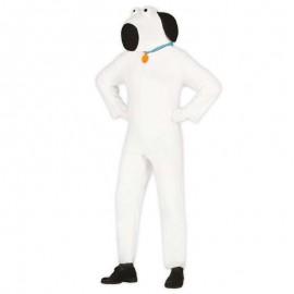 Disfraz de Perro blanco