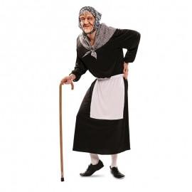 Disfraz de vieja del visillo para adulto