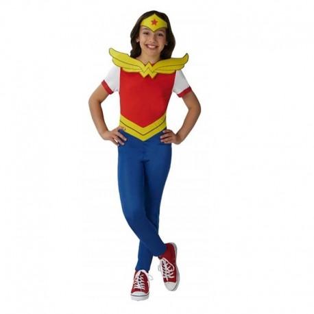 Disfraz de Wonder Woman 9-10 años