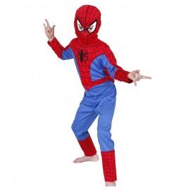 Disfraz de Spiderman clasico 7-8 años
