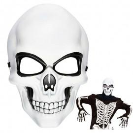 Careta de esqueleto rigida
