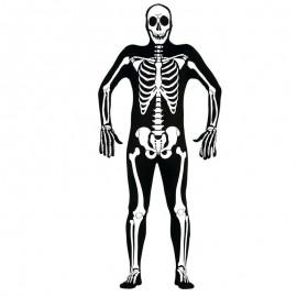 Disfraz de esqueleto de chico