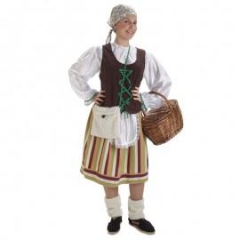 Disfraz de pastora montañesa