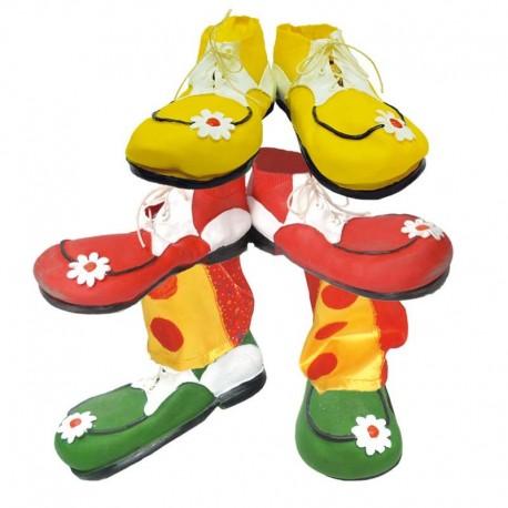 Zapato de payaso de goma adulto
