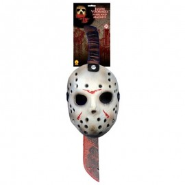 Careta y machete de Jason