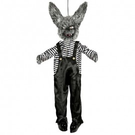 Colgante conejo diabolico