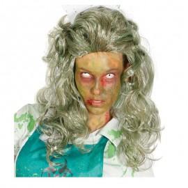Peluca zombie de mujer