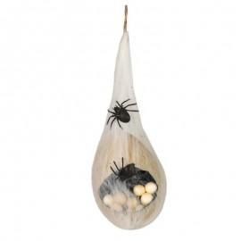 Huevos de araña con luz