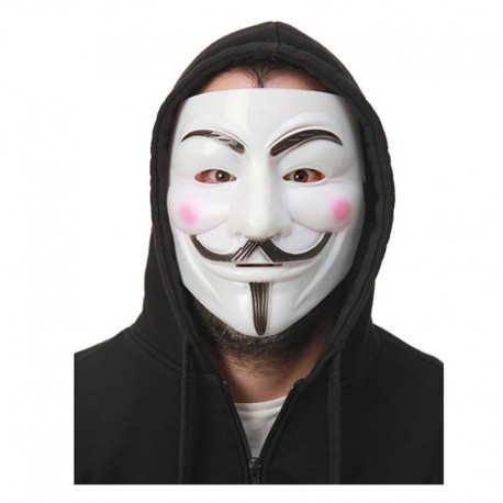 Careta V de Vendetta Anonymous