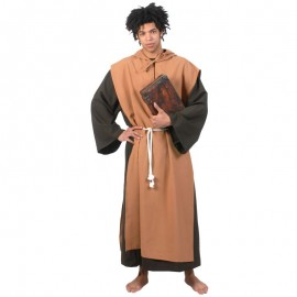 Disfraz de monje prior para adulto
