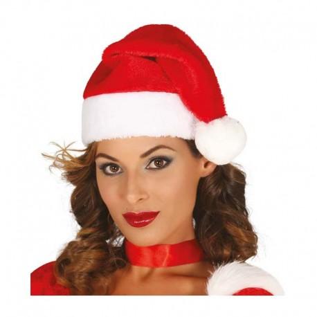 Gorro de Papa Noel extra 40 cms.
