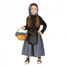 Disfraz de castañera 5-6 años