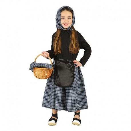 Disfraz de castañera 7-9 años