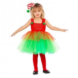Disfraz de elfa tutu 5-6 años