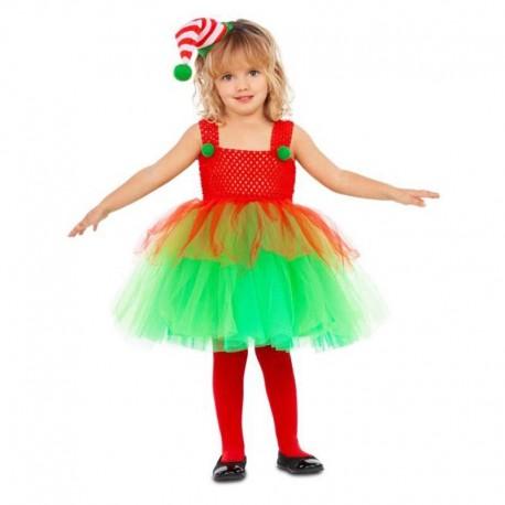Disfraz de elfa tutu 3-4 años