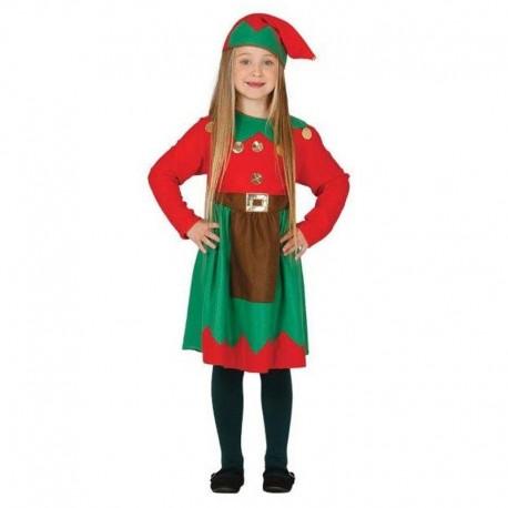 Disfraz de elfa 7-9 años