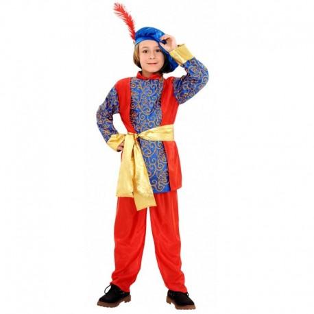 Disfraz de paje Melchor 5-6 años