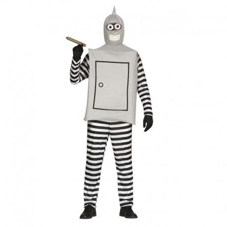 Disfraz de robot Bender Futurama