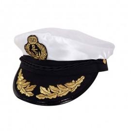 Gorra de capitan de barco lujo