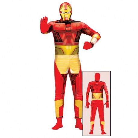Disfraz de tipo Iron Man para adulto