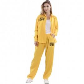 Disfraz de vis a vis presa amarillo Talla S
