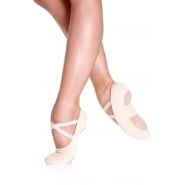 Zapatilla de Ballet de lona elastica